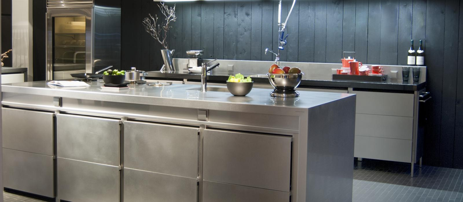 Stainless Steel Cabinets | New York Kitchen Cabinets