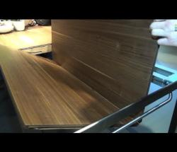"Embedded thumbnail for Team 7 at Eurocuchina: 'Tak"" Extendable Dining Table"