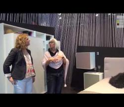 "Embedded thumbnail for  Hulsta at ISaloni: ""Hulsta Now"" Urban Bedroom"