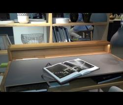 """Embedded thumbnail for Team 7 at Eurocuchina: """"Sol"""" Solid Wood and Leather Desk"""