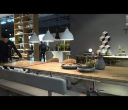 Embedded thumbnail for Team 7 at Eurocuchina: Solid Oak Table, Chairs, and Matching Sideboard